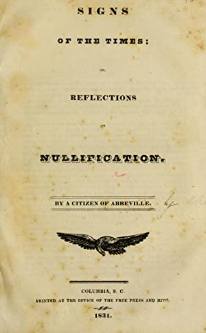 Signs of the times; or, Reflections on: Carey, Mathew, 1760-1839