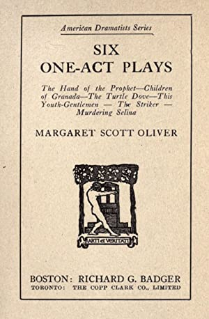 Six one-act plays : The hand of: Oliver, Margaret Scott