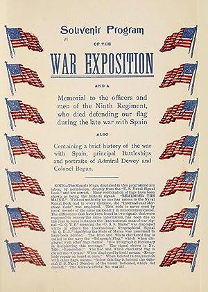 Souvenir program of the War Exposition :