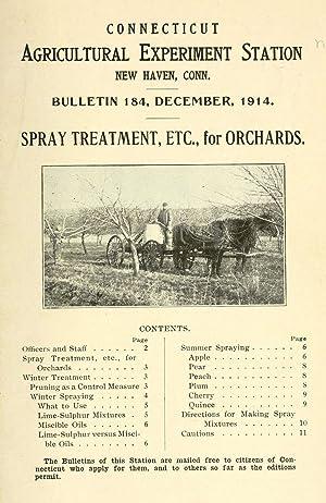 Spray treatment, etc., for orchards [Reprint] (1914): Britton, Wilton Everett,