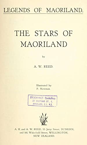 Stars of Maoriland; [Reprint]: Reed, A. W.