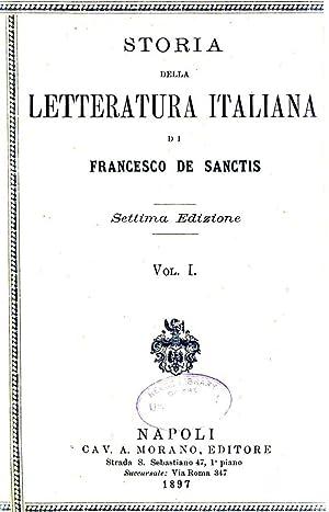 Storia della letteratura italiana di Francesco de: De Sanctis, Francesco,