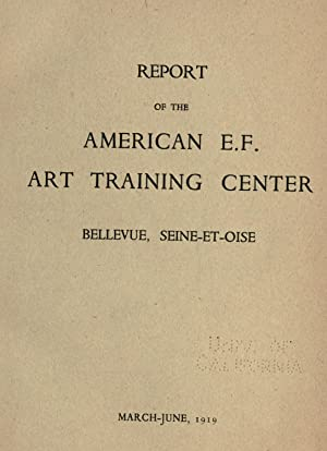 Report of the American E. F. art: United States. Army.