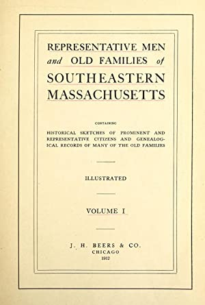 Representative men and old families of southeastern: J.H. Beers &