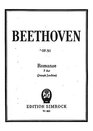 Romanze in F dur, op. 50 (1910): Beethoven, Ludwig van,