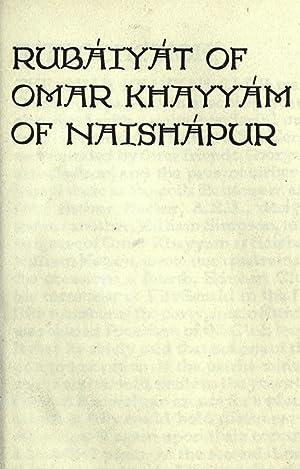 Rubáiyát of Omar Khayyám of Naishápur [Reprint]: Omar Khayyam,Omar Khayyam
