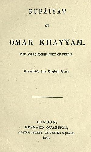 Rubáiyát of Omar Khayyám, the astronomer-poet of: Omar Khayyam,Commonwealth Press