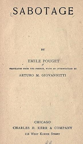 Sabotage [Reprint]: Pouget, Emile