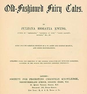 Old-fashioned fairy tales [Reprint]: Ewing, Juliana Horatia