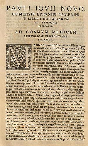Pauli Iouii Nouocomensis episcopi Nucerini Historiarum sui