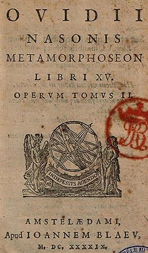Pub. Ovidii Nasonis Opera Publii Ouidii Nasonis: Publius Ovidius Naso