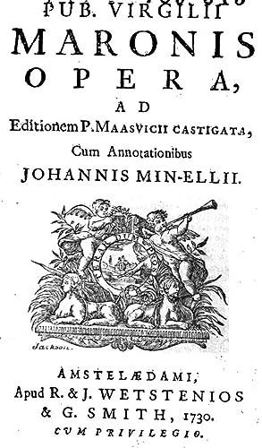 Pub. Virgilii Maronis Opera, (1730) [Reprint]: Vergilius Maro, P.