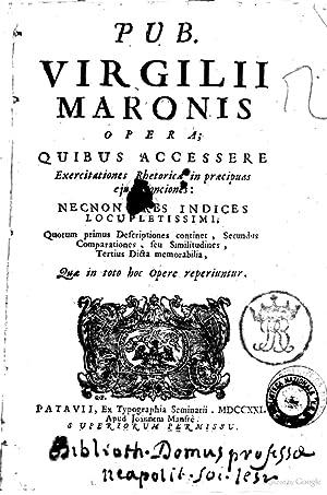 Pub. Virgilii Maronis Opera; quibus accessere exercitationes: Publius Vergilius Maro