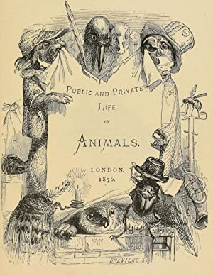 Public and private life of animals (1877): Thomson, J
