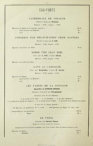 Publications nouvelles de la maison Goupil et: Goupil & Cie