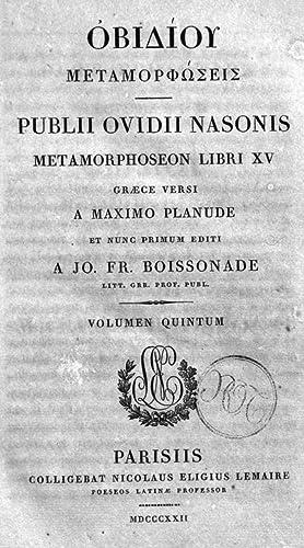 Publii Ovidii Nasonis quae extant omnia opera: Publius Ovidius Naso