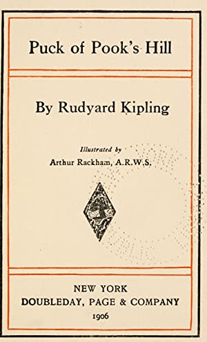 Puck of Pook's Hill [Reprint]: Kipling, Rudyard, 1865-1936,Rackham,