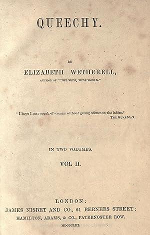 Queechy. (Volume: 2) [Reprint]: Warner, Susan, 1819-1885