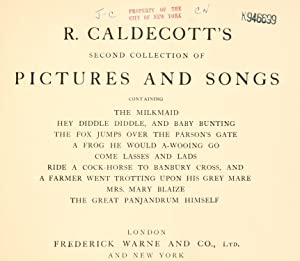 R. Caldecott's second collection of pictures and: Caldecott, Randolph, 1846-1886,