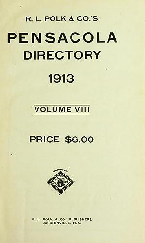 R. L. Polk and Company's Pensacola directory: R.L. Polk &