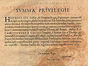 R. patris Christophori a Castro, Ocaniensi, .: Cristÿbal Castro