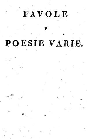 Raccolta di favole morali e di poesie: Giuseppe Appio