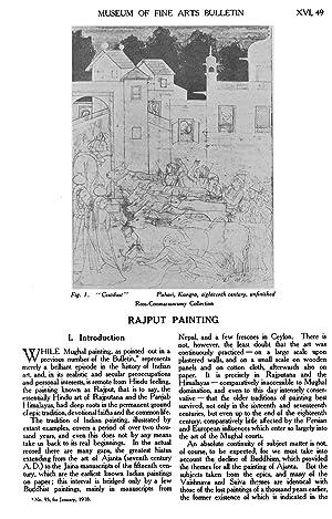 Rajput Painting (1918) (Volume: 16) [Reprint]: A. K. C.