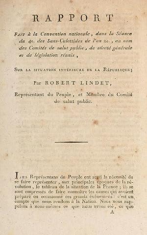 Rapport fait a? la Convention nationale, dans: Lindet, Jean-Baptiste-Robert, 1749-1825,France.