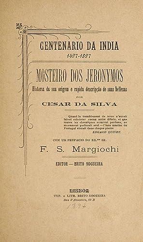 Mosteiro dos Jeronymos : historia da sua: Cesar da Silva,
