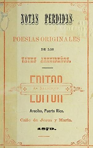 Notas perdidas. Poesias originales de los vates: Salicrup, Alejandro