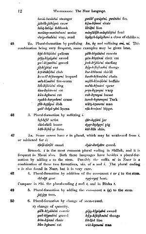 Nuer Grammar [Reprint] (1912): Westermann, Diedrich