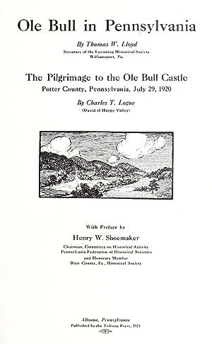 Ole Bull in Pennsylvania, by Thomas W.: Lloyd, Thomas W.