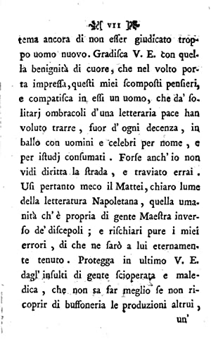 Lettera villereccia di Felice Parrilli ad uno: Felice Parrilli
