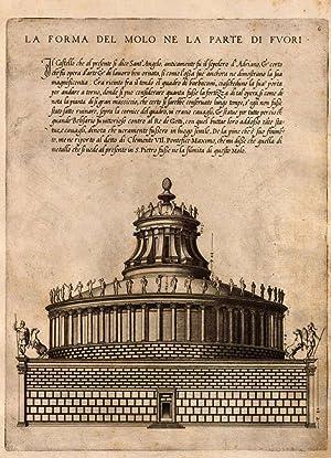 Libro d'Antonio Labacco appartenente a l'architettura nel: Antonio Labacco