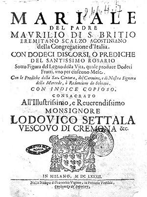 Mariale del padre Maurilio di S. Britio: Maurilio : da