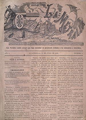 La Metralla (1898) (Volume: 1) [Reprint]: Estrada, FÃ lix