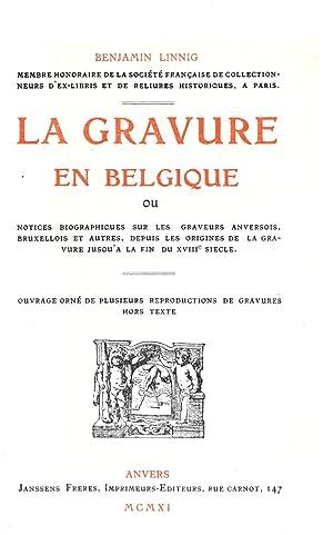 La gravure en Belgique; ou, Notices biographiques: Linnig, Benjamin