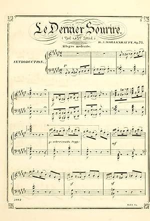 Le dernier sourire, op. 72 = The: Wollenhaupt, H. A.