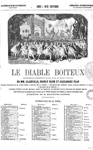 Le diable boiteux grande revue parisienne en: Louis François NicolaÃ