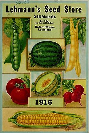Lehmann's Seed Store [catalog] 1916. (1916) (Volume: Lehmann's Seed Store,Henry