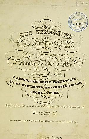 Les Sybarites, ou Les Francs-maçons de Florence,: Aimon, Là opold,