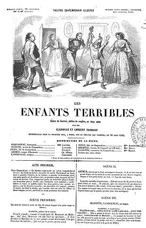 Les enfants terribles scà nes de Gavarni,: Louis François NicolaÃ