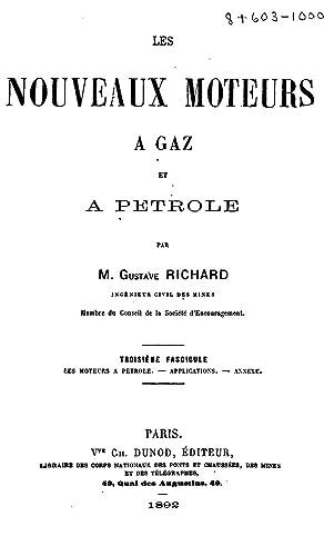 Les nouveaux moteurs à gaz et Ã: Gustave Richard
