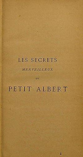 Les secrets merveilleux de la magie naturelle: Albert, Petit. n