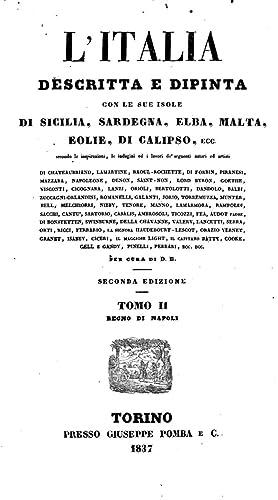 L'Italia descritta e dipinta con le sue