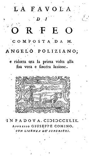 L'elegantissime stanze di messer Angelo Poliziano incominciate: Angelo Poliziano