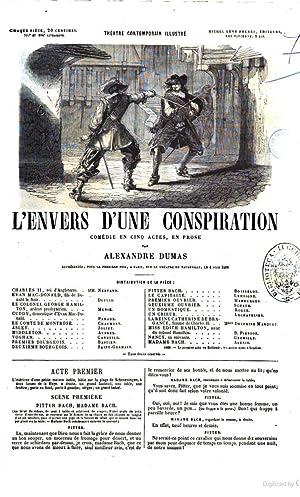 L'envers d'une conspiration comédie en cinq actes,: Alexandre père Dumas