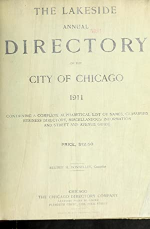The Lakeside annual directory of the city