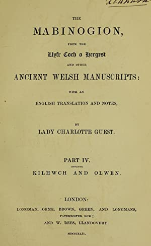 The Mabinogion from the Llyfr Coch o