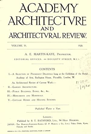Academy Architecture Architectural Review - AbeBooks
